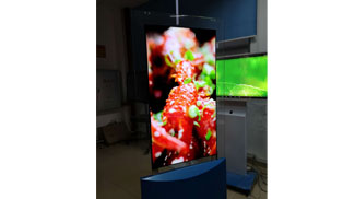 OLED signage has become the mainstream of digital signage market development